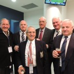 1963 players, L. Borrack, J. Devine, T. Polinelli, F. Woolller, J. Sharrock, C Rice, clubrooms 29 June 2013